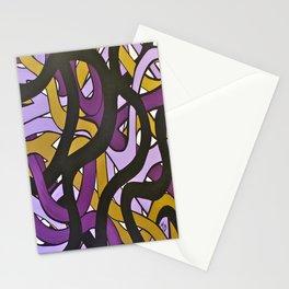 Roads Purple Stationery Cards