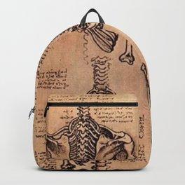 Study of Skeletons - Leonardo da Vinci Backpack