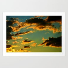 My Vintage Sky Art Print