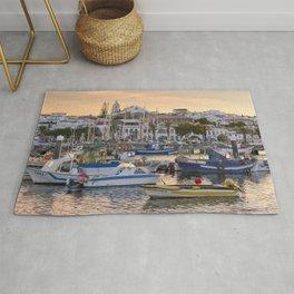 Lagos harbour, the Algarve Rug