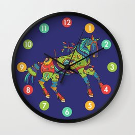 Horse, cool wall art for kids and adults alike Wall Clock