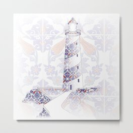 morescos lighthouse Metal Print
