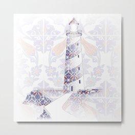 morescos lighthouse Metal Print