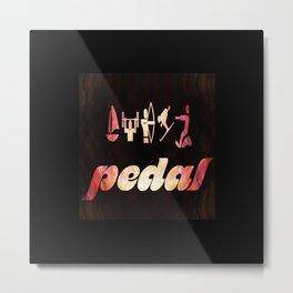 Pedal Classics Metal Print