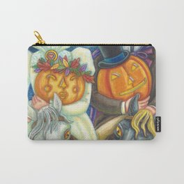 SLEEPY HOLLOW WEDDING - Brack Headless Horseman Halloween Art Carry-All Pouch