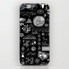 INFOGRAPHICS_MONO iPhone Skin
