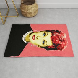 Lucille Ball - Lucy - Pop Art Rug