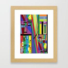 Geometry Abstract Framed Art Print