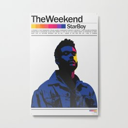 TheWeeknd Metal Print