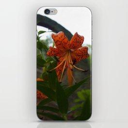 Floral Print 054 iPhone Skin