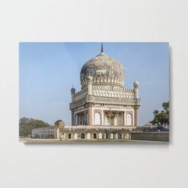 Tomb of Sultan Quli Qutb Shahi Metal Print