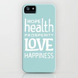 Wishing you... iPhone Case