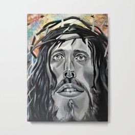 Christ Has Risen Metal Print