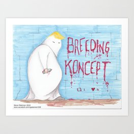 Breeding Koncept Art Print