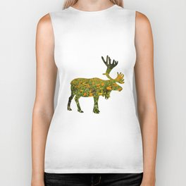 flowers in elk Biker Tank