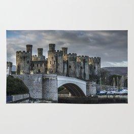 Conwy Castle, North Wales Rug