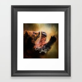 Capturing The Sun Framed Art Print