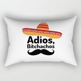 Adios Bitchachos Rectangular Pillow