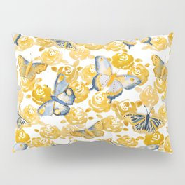 Butterflies 'n Roses Pillow Sham