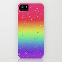 Rainbow Fairy Kei Pattern iPhone Case