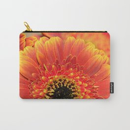 Sunset Gerbera Daisy macro Carry-All Pouch