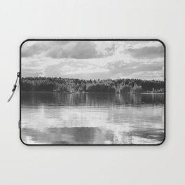 Reflections On A Lake #decor #society6 Laptop Sleeve