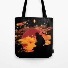 NINJA NIGHT SHOWDOWN Tote Bag
