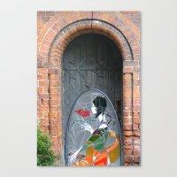 art deco Canvas Prints featuring Art Deco by PureVintageLove