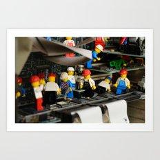 Maintenance Art Print