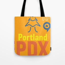 Airport Portland PDX Tote Bag
