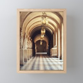 Paris - Inside Versailles Framed Mini Art Print