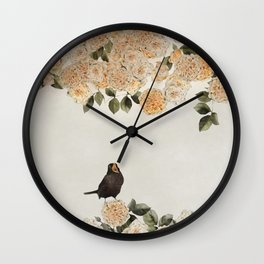 blackbirds song Wall Clock