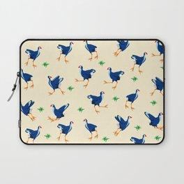 Pukeko swamp hen pattern Laptop Sleeve