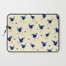 Pukeko swamp hen pattern Laptop Sleeve