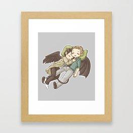 Interspecies nest Framed Art Print