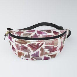 Flag On The Play Wine Fanny Pack