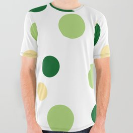 Green Pop All Over Graphic Tee
