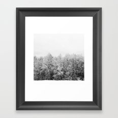 Ansels Trees Framed Art Print