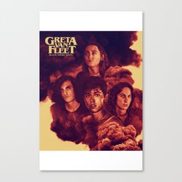 GRETA VAN FLEET WORLD TOUR 2017 Canvas Print