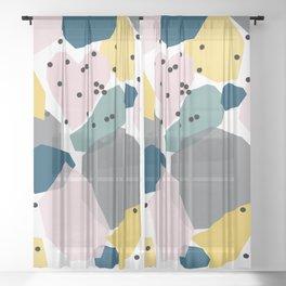Shapes Sheer Curtain
