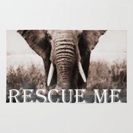 Elephant Rescue Rug