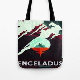Vintage poster -Enceladus Tote Bag