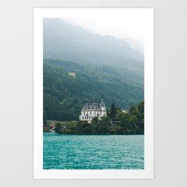 Iseltwald Switzerland Art Print