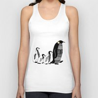 penguins Tank Tops featuring Penguins by Sophie H.