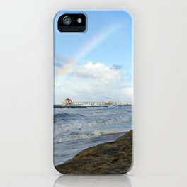 Christmas Rainbow At Ruby's 12-25-18 iPhone Case