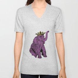 """""""Olli the Elephant"""" Unisex V-Neck"""