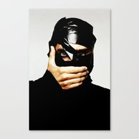 jared leto Canvas Prints featuring Jared Leto by ScarTissue