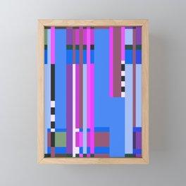 Geometric design - Bauhaus inspired Framed Mini Art Print