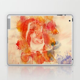 Watercolor Squirrel Laptop & iPad Skin