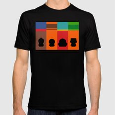 SouthPark: Meet Some Friends of Mine Mens Fitted Tee MEDIUM Black